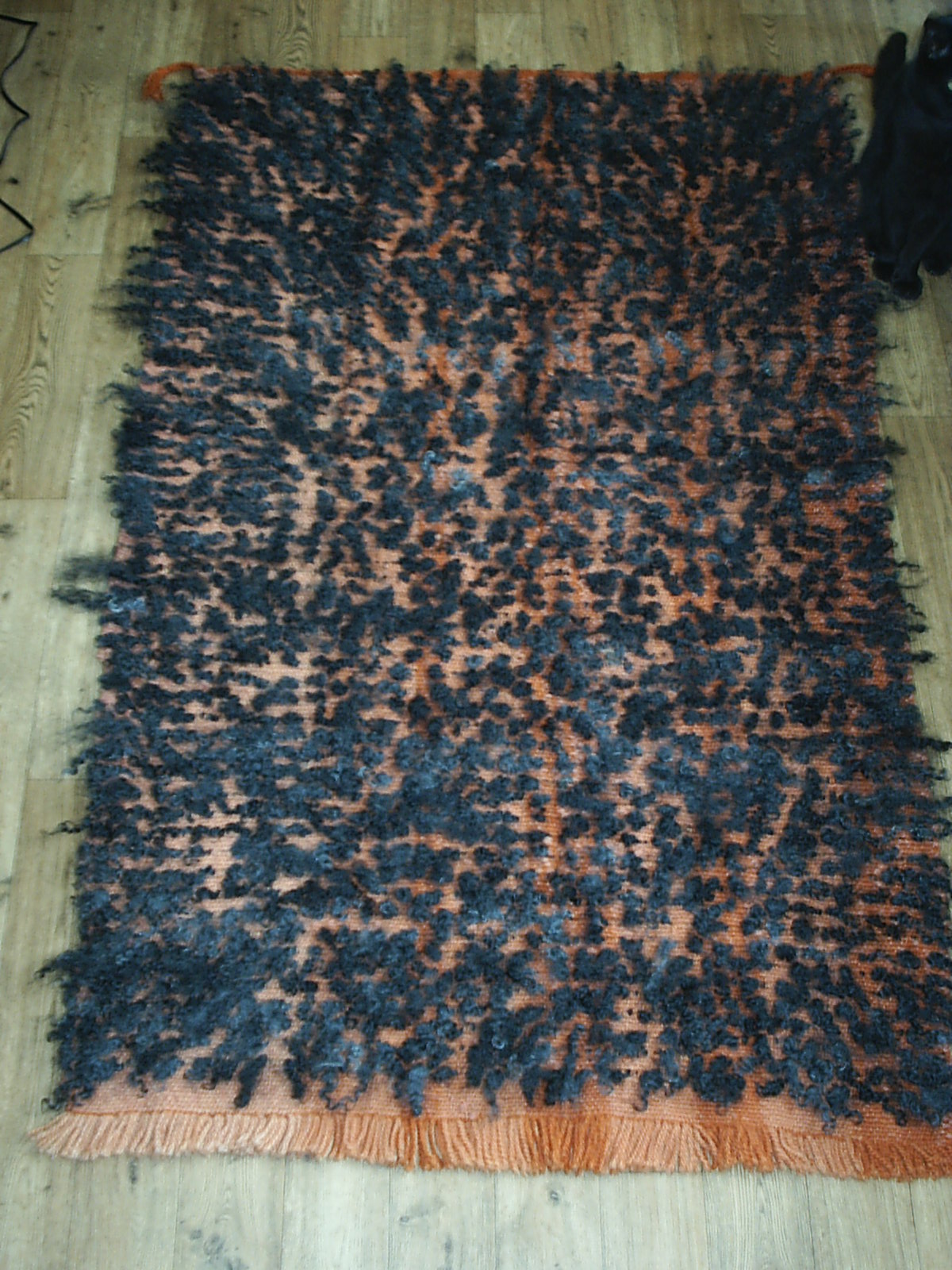 Warp Weighted Loom For Rug Weaving