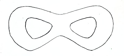 superhero mask template for kids - search results for eye mask template printable