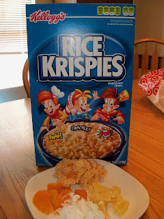 Tropical Rice Krispies Treats