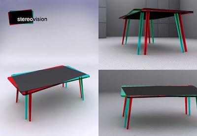 John Nouanesing 3D Table Concept – Stereovision
