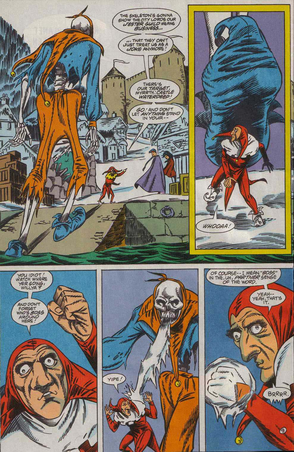 Read online Advanced Dungeons & Dragons comic -  Issue #7 - 10