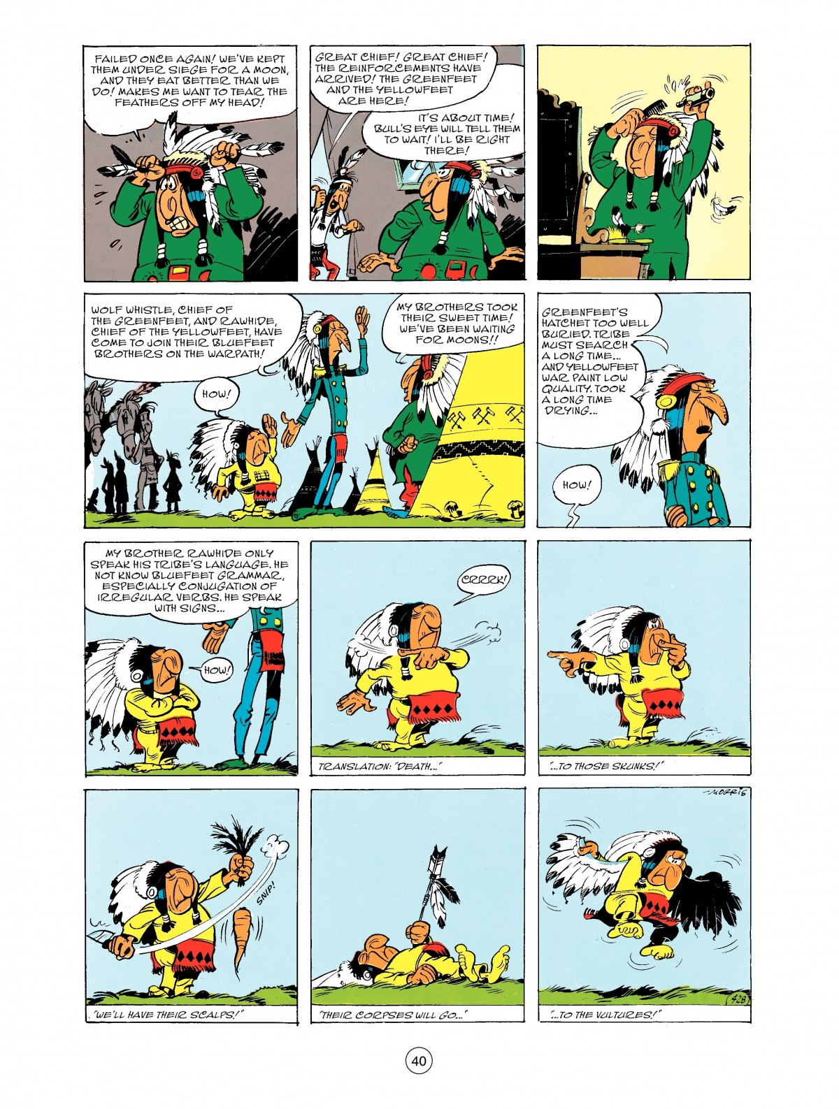 Read online A Lucky Luke Adventure comic -  Issue #43 - 40