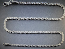 ( 18 )       stainless steel rope chain  28 &  30 long   $40.00 each