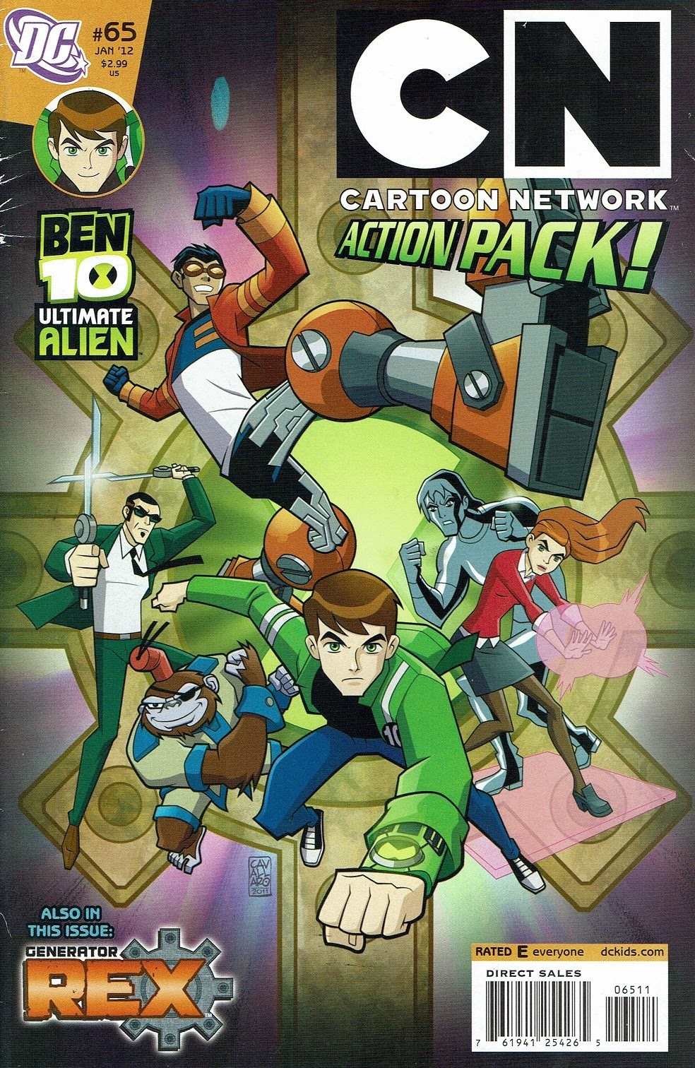 Read online Cartoon Network Action Pack comic -  Issue #65 - 1