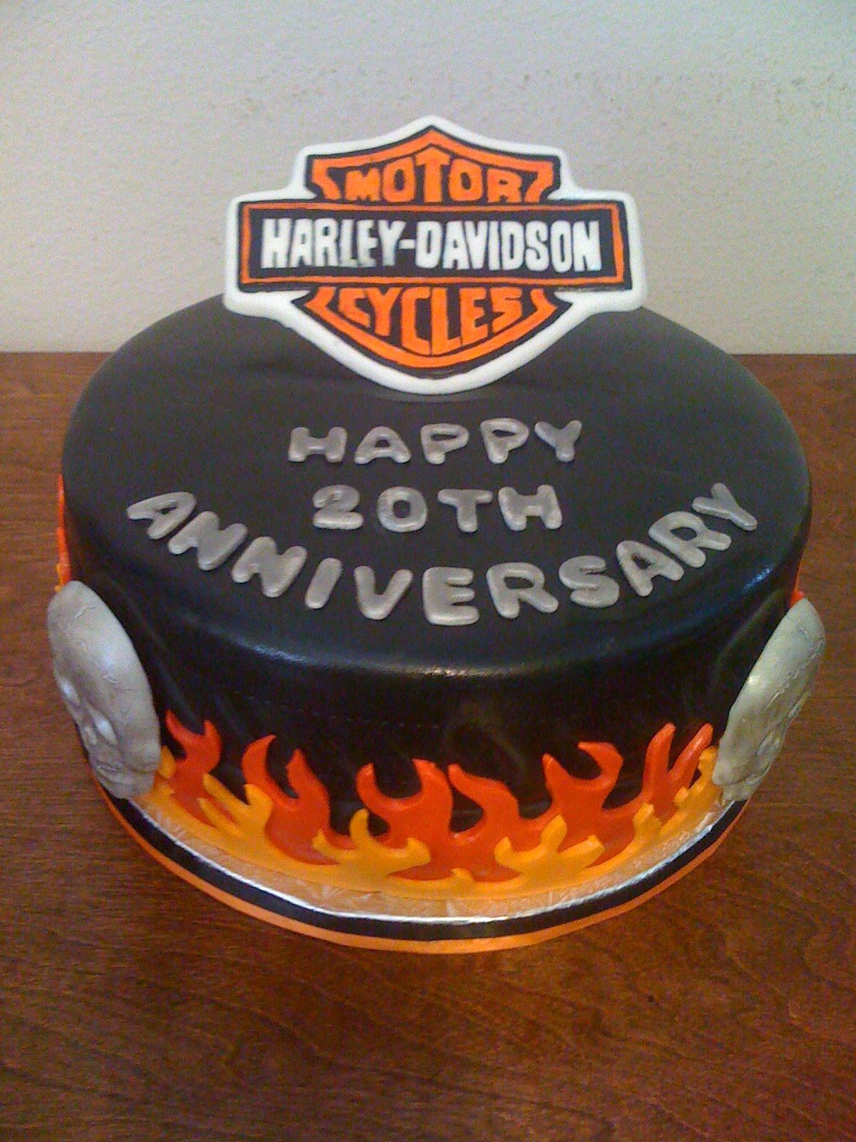 Donna Belle Desserts Harley Davidson Cake