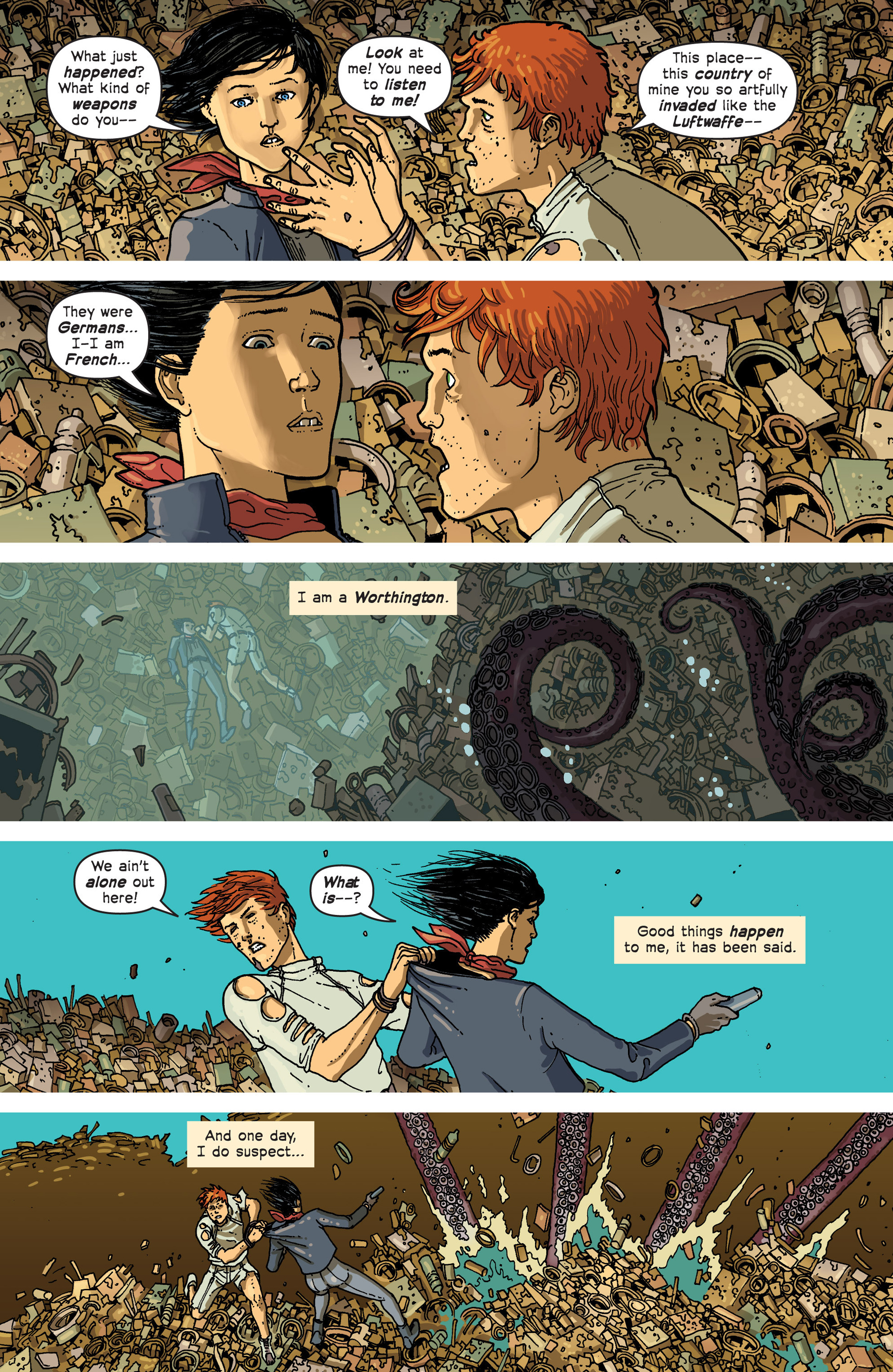 Read online Great Pacific comic -  Issue #3 - 23