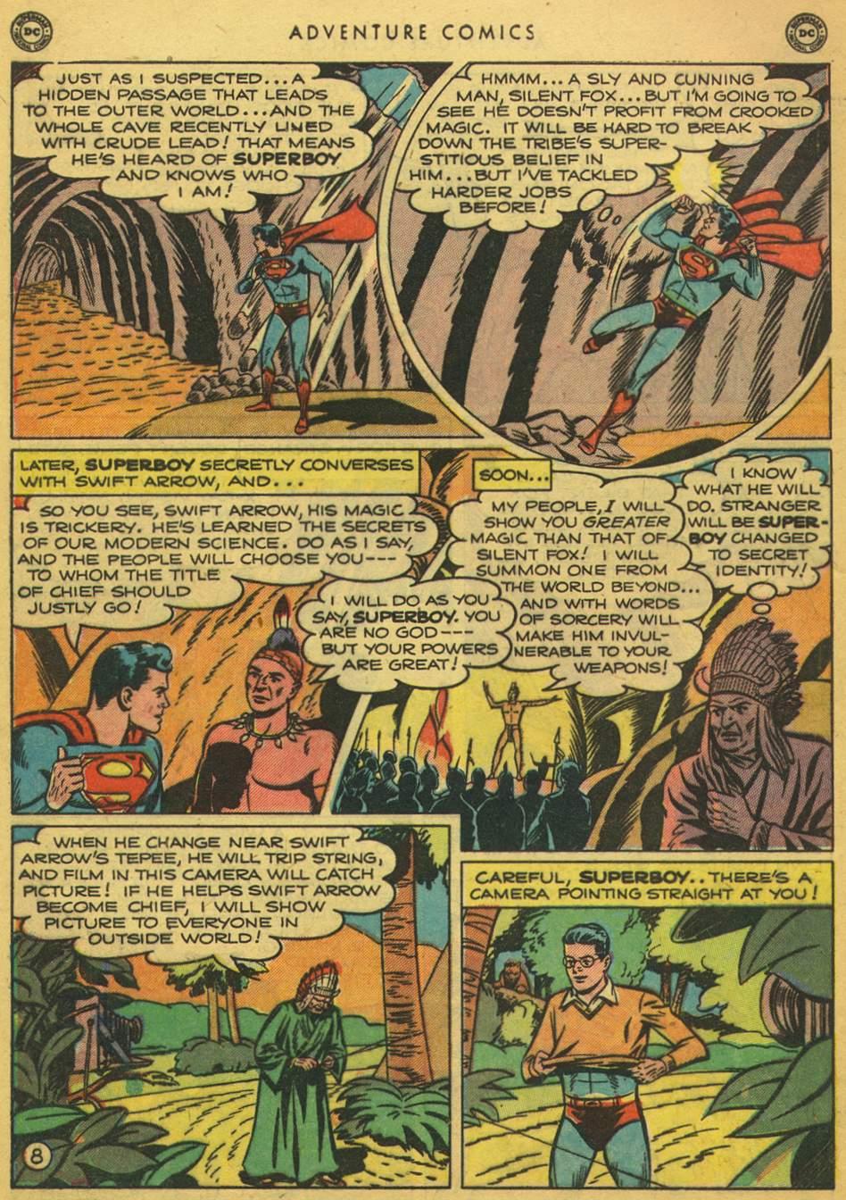 Read online Adventure Comics (1938) comic -  Issue #164 - 10