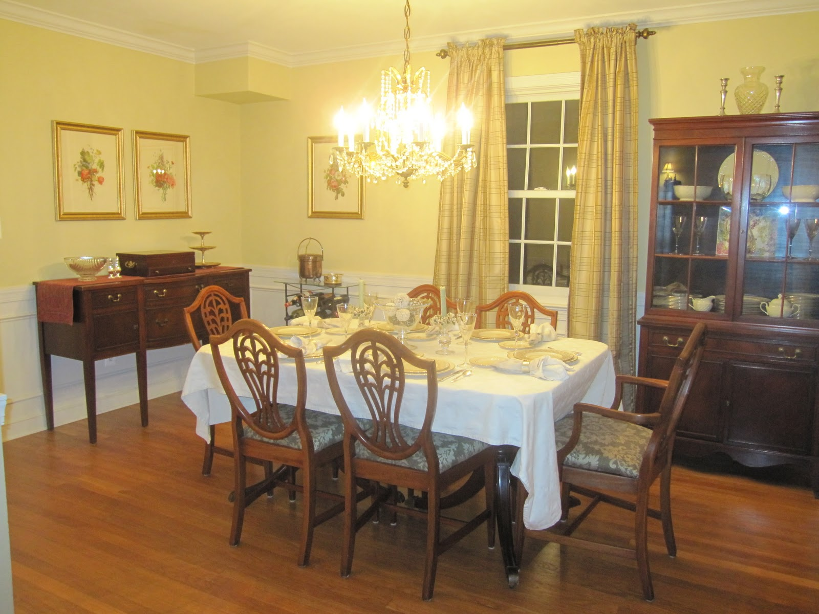 HOUSEography: Dining Room Redesign Update!