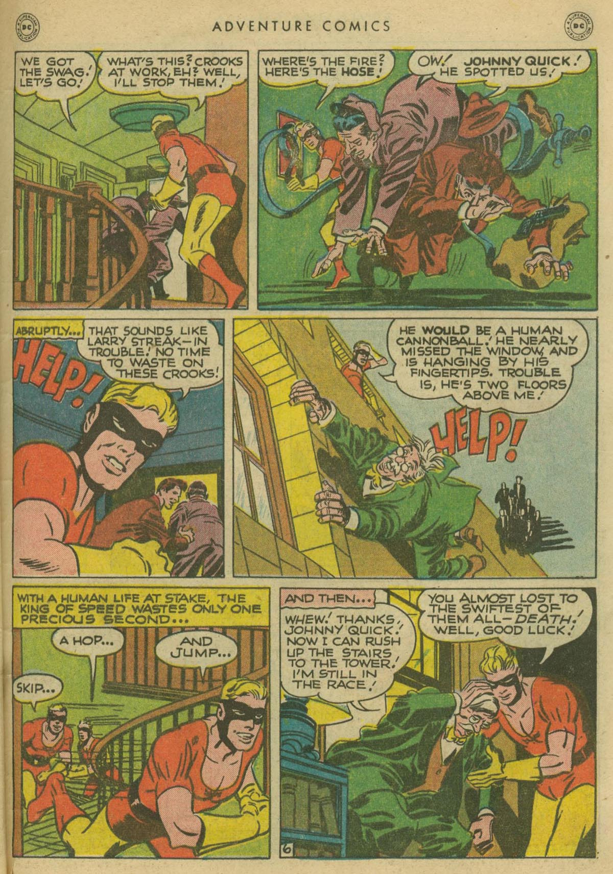 Read online Adventure Comics (1938) comic -  Issue #130 - 44