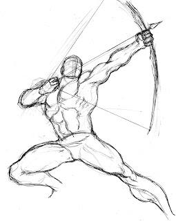 Geraldo penciller: Green Arrow step-by-step