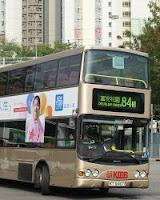 香港巴士路線. 地圖與車費指南: 九龍巴士 84M