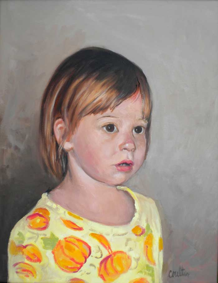 dear artist pouting child