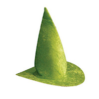 Green witch's hat