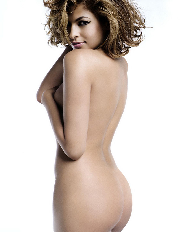 Eva mendes sexy lingerie shoot