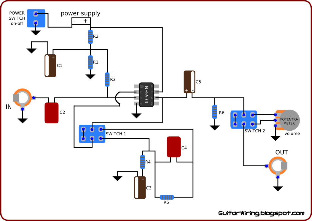 The Guitar Wiring Blog  diagrams and tips: Guitar Preamp