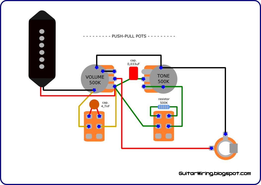 gibson les paul junior wiring diagram
