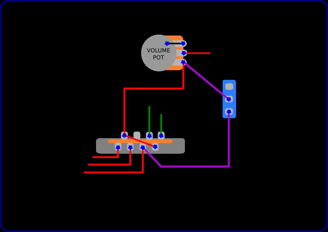 bridge pickup wiring diagrams