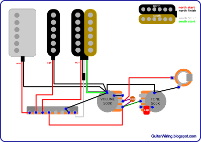 The Guitar Wiring Blog  diagrams and tips: Ibanez RG With a PAF Humbucker  Wiring Diagram