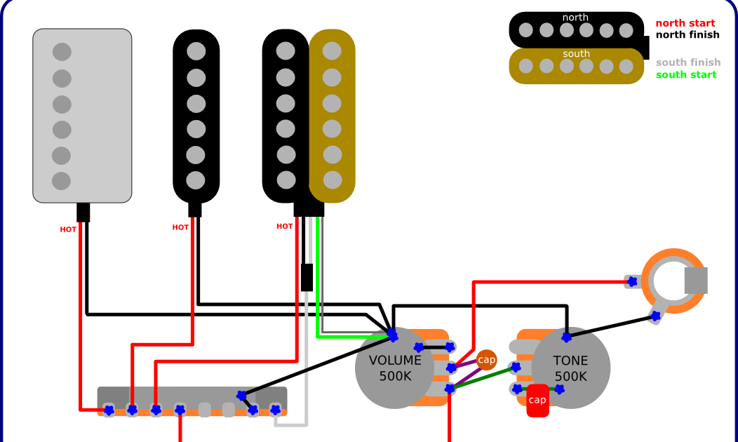 The Guitar Wiring Blog  diagrams and tips: Ibanez RG With a PAF Humbucker  Wiring Diagram