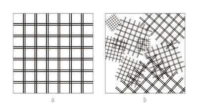 pengertian pola tekstur perbedaan arti definisi makna arti lambang bentuk geometris organis pattern contoh gambar desain grafis visual komunikasi penerapan