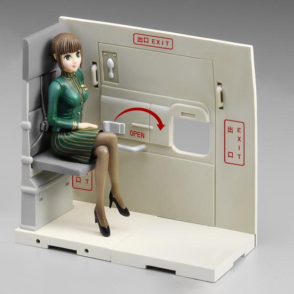 Anime-Style EVA Flight Attendant
