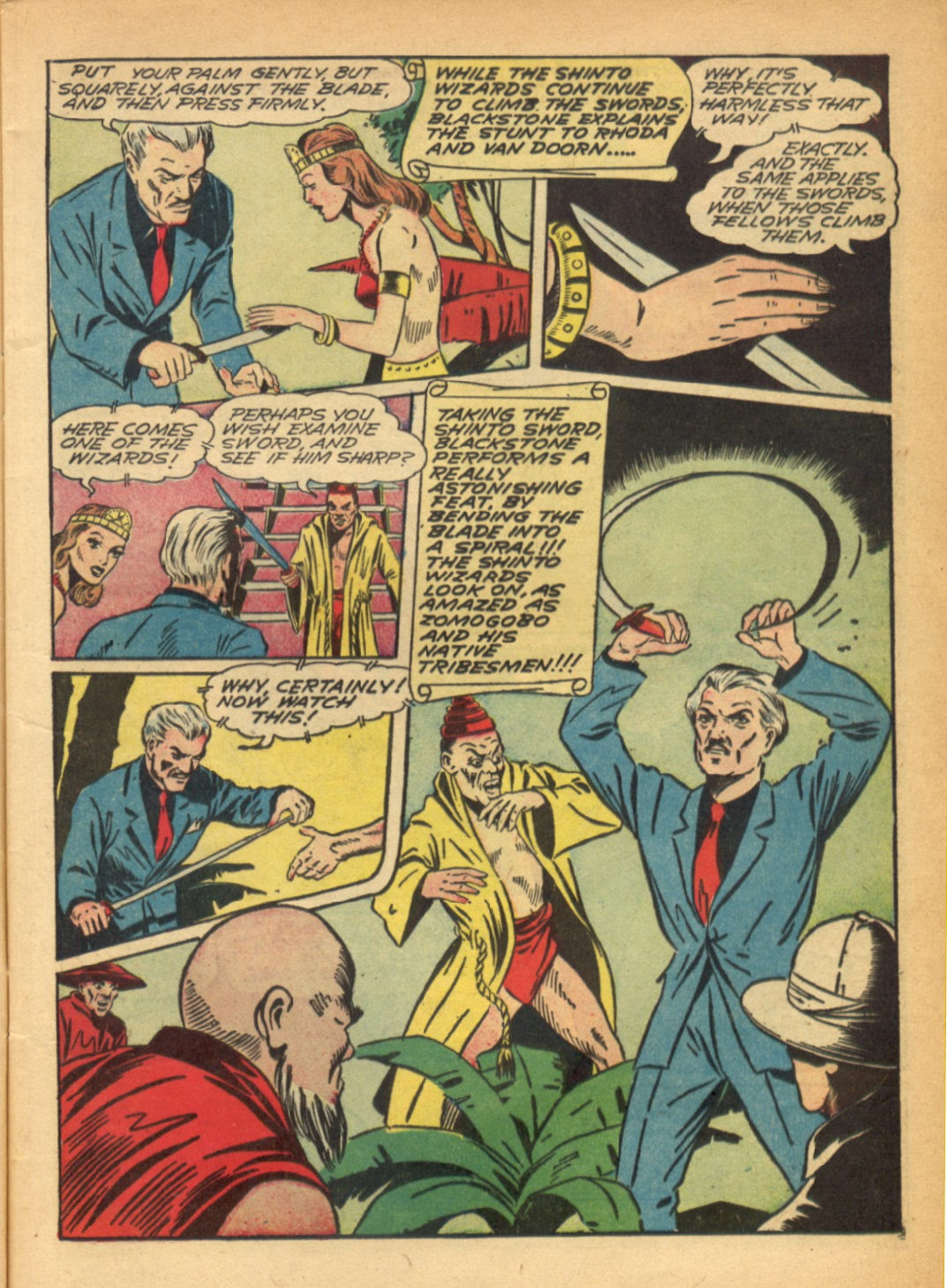 Read online Super-Magician Comics comic -  Issue #6 - 15