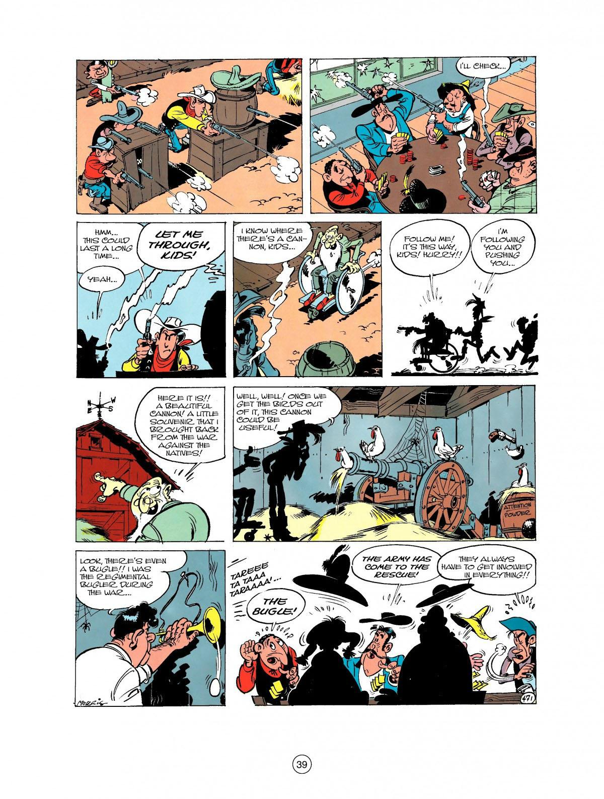 Read online A Lucky Luke Adventure comic -  Issue #27 - 40