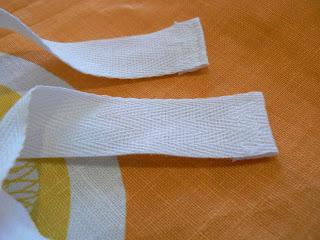 c4983cc162 CurlyPops  Tutorial - How to make a Tea Towel Drawstring Bag
