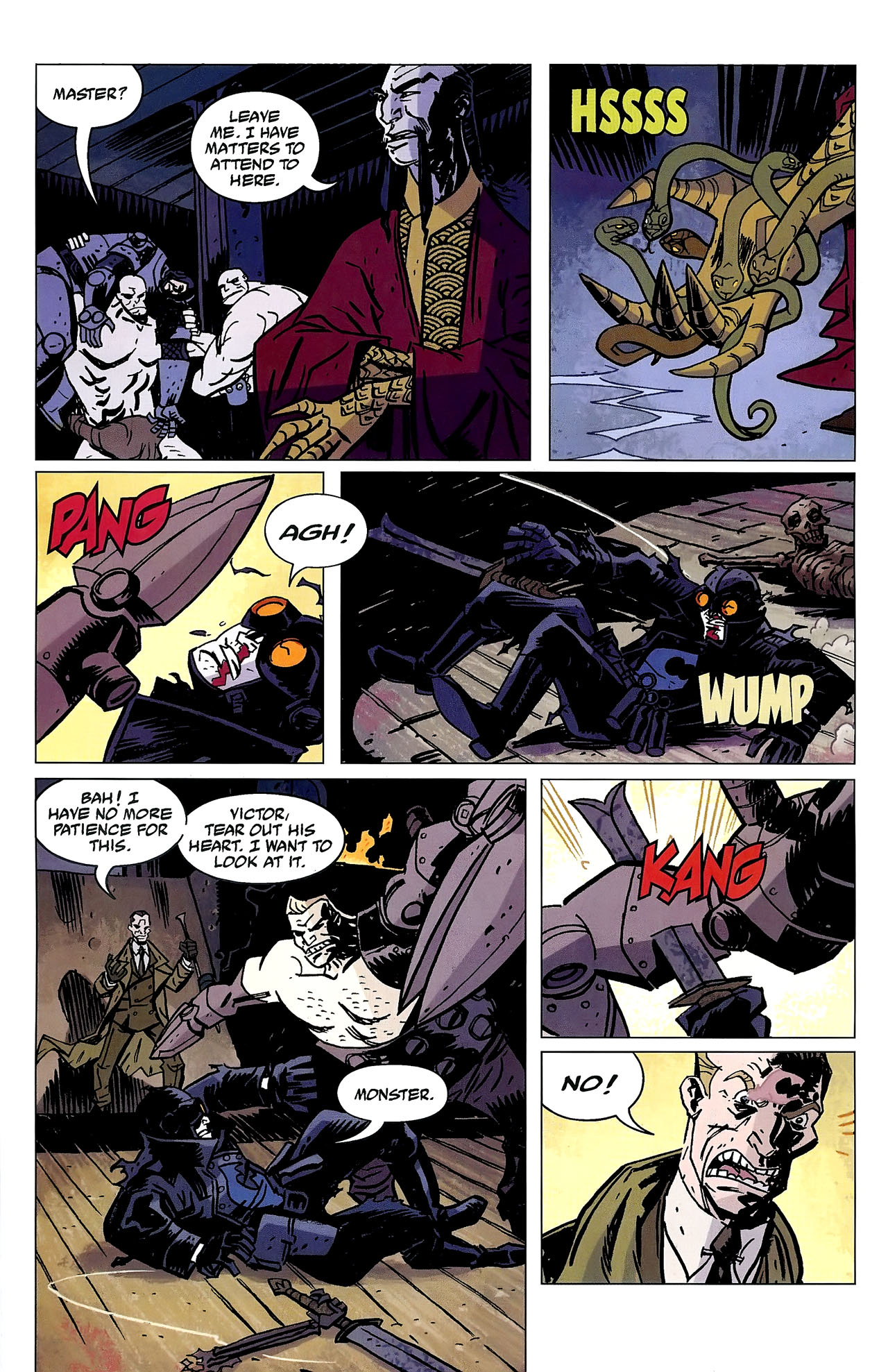 Read online Lobster Johnson: The Iron Prometheus comic -  Issue #2 - 17