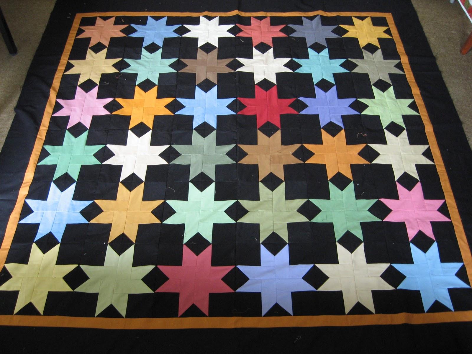 Amish Star Quilt