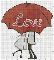 Описание: влюбленных вышивка крестиком модели.