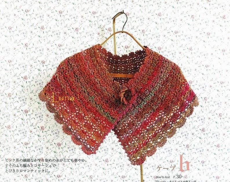 My Crochet , Mis Tejidos by Luna: Chal o Capa