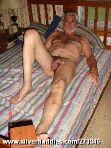 hung old man
