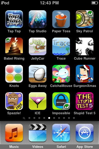 Best Free Ipod Touch Games