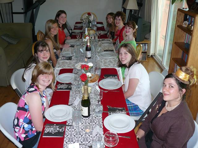 Julia Child Dinner Party Menu