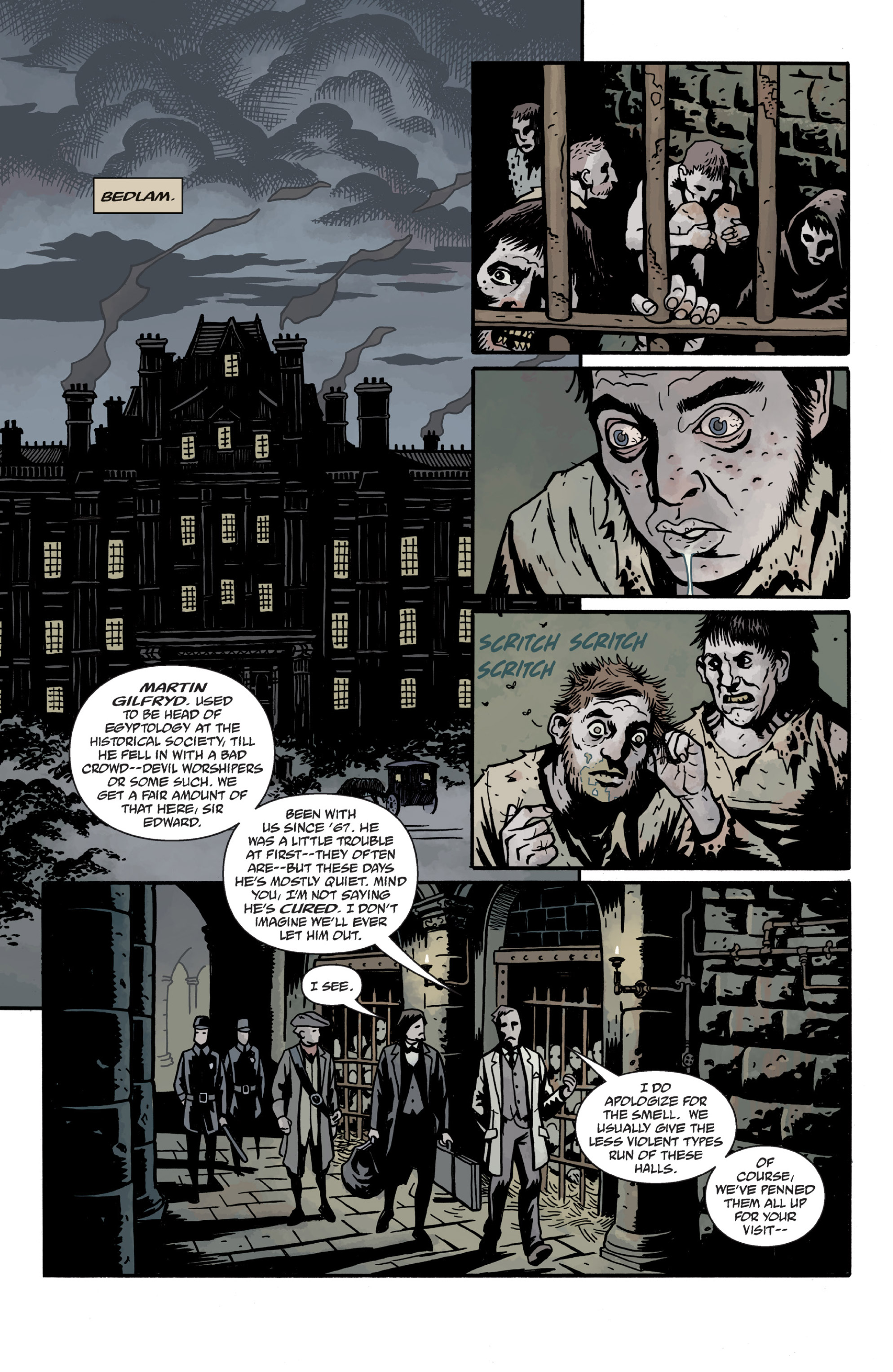Read online Sir Edward Grey, Witchfinder: In the Service of Angels comic -  Issue # TPB - 100