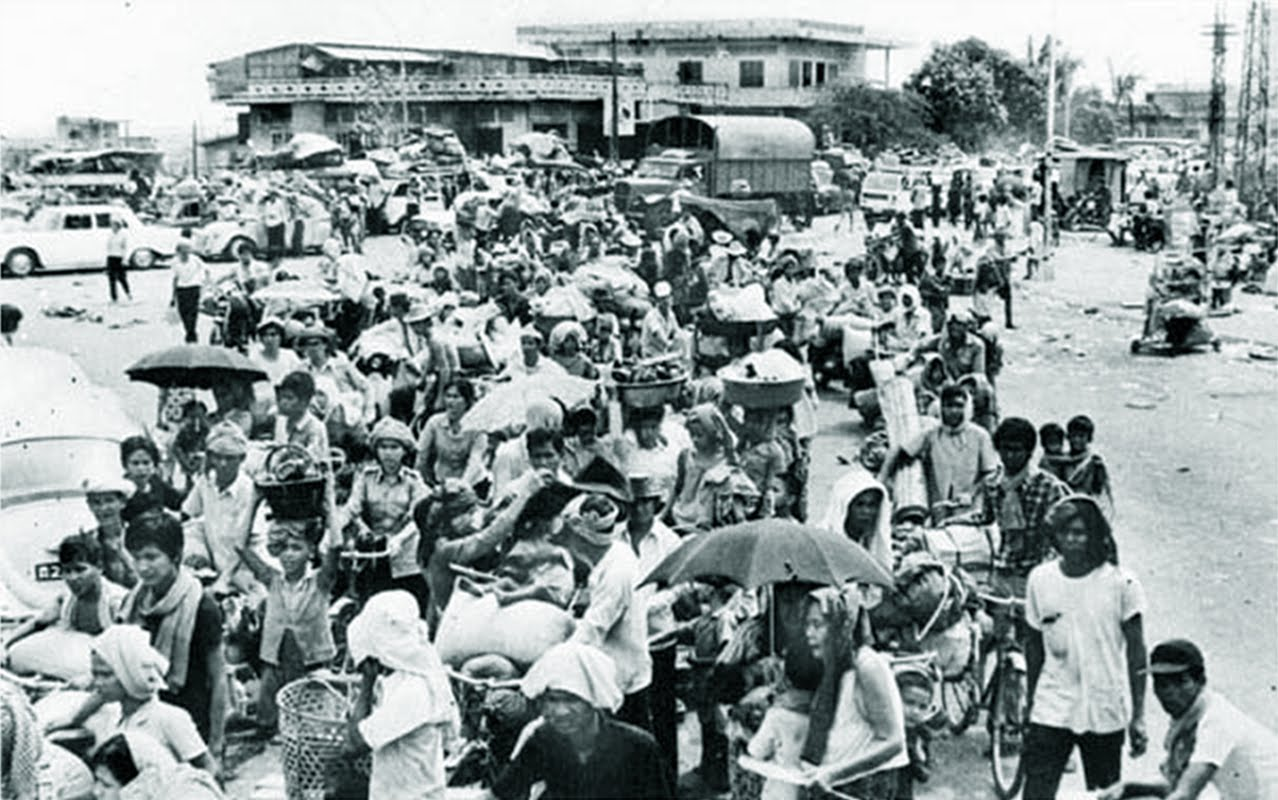 De evacuatie van Phnom Penh