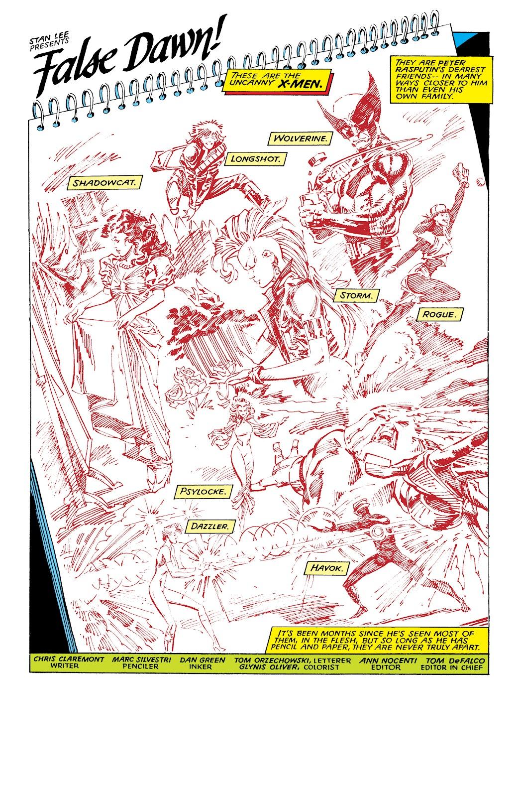 Read online X-Men Milestones: Fall of the Mutants comic -  Issue # TPB (Part 1) - 4