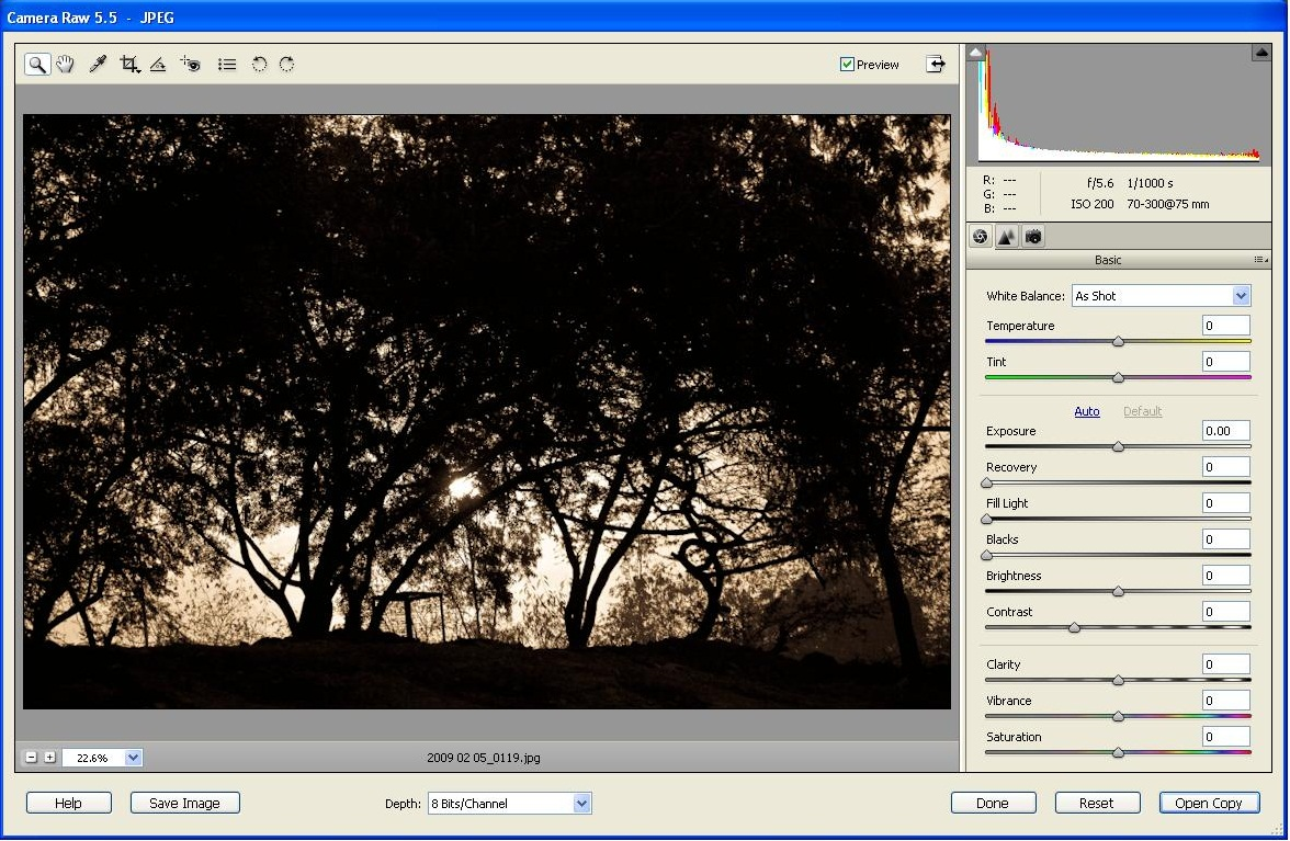 Tips and tricks for Photoshop Elements: How to edit JPEG in Adobe Camera Raw Editor?
