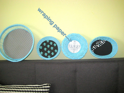 Basket wall art