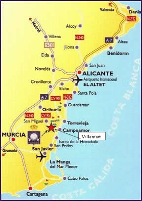 Welcome To 21 Los Dolses On The Costa Blanca Our Home In