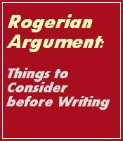 Rogerian Argument Essay Outline Example