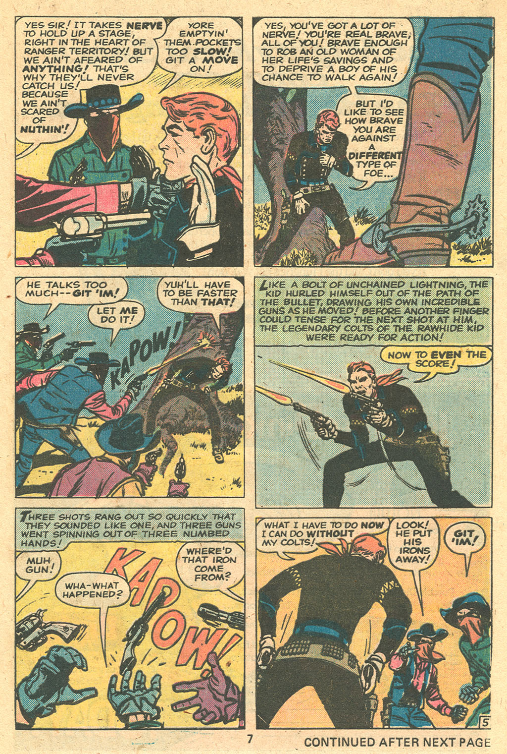 The Rawhide Kid (1955) issue 137 - Page 9