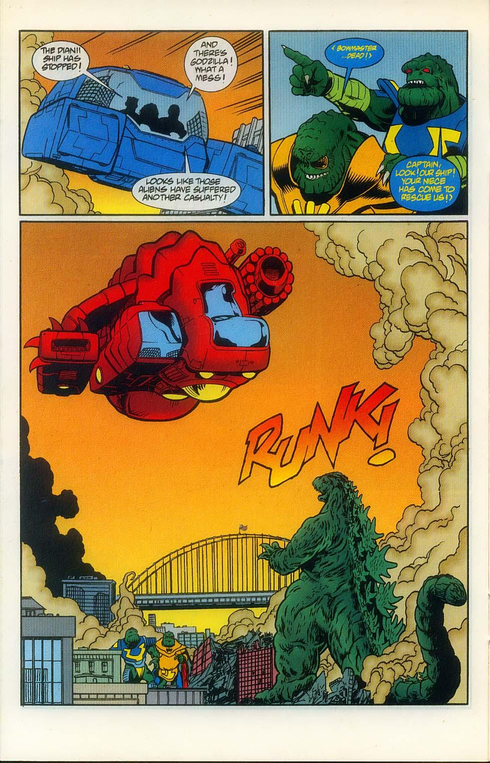 Godzilla (1995) Issue #8 #9 - English 14