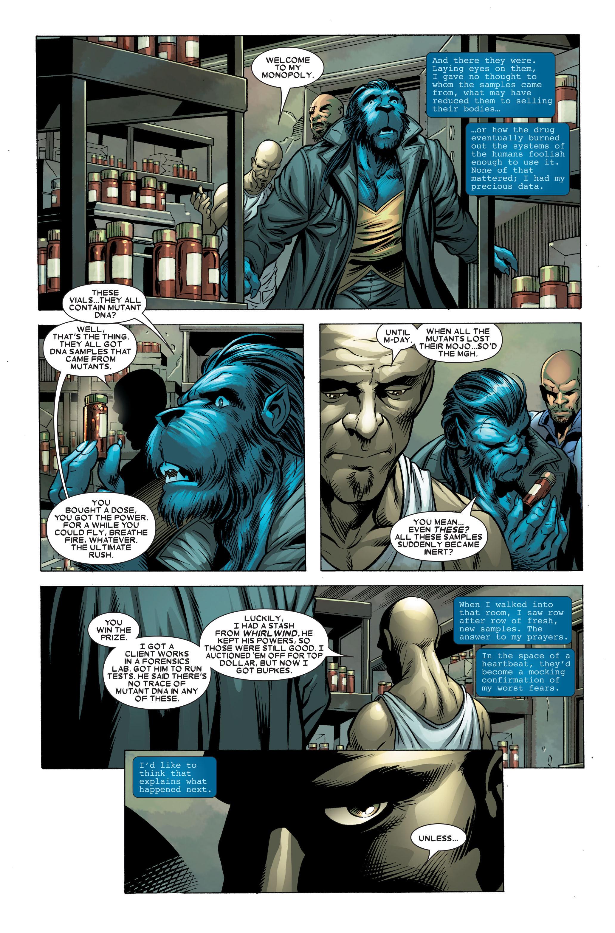 Read online Uncanny X-Men (1963) comic -  Issue #490 - 28