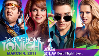 Take Me Home Tonight Superbowl TV Spot - Take Me Home Tonight Super Bowl Trailer