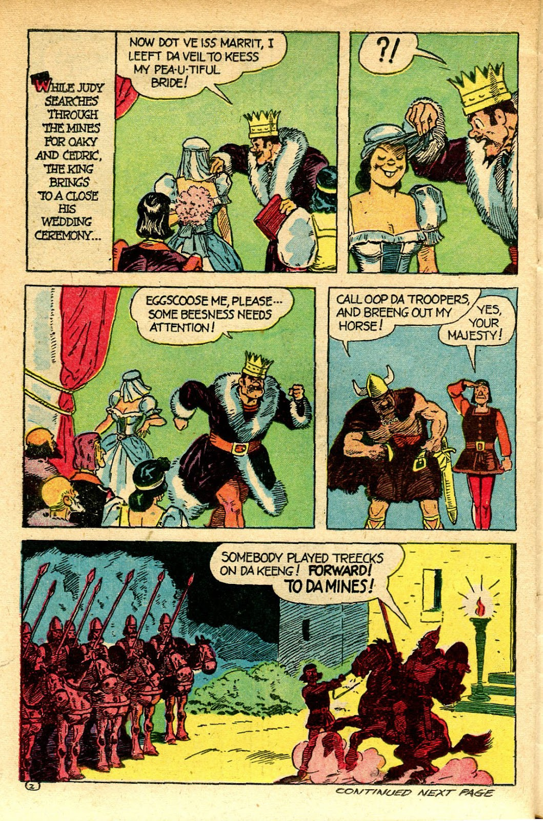 Read online Famous Funnies comic -  Issue #129 - 36