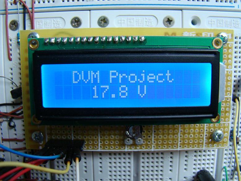 Digital Voltmeter Dvm Circuit Using Icl7107