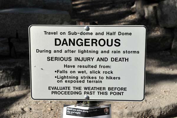 Half Dome Cables Accident Supertopo Rock Climbing