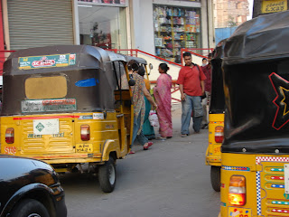 Traffic in Hyderabad